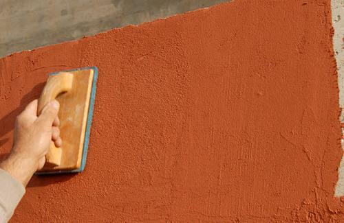 Жидкая фасадная шпаклевка
