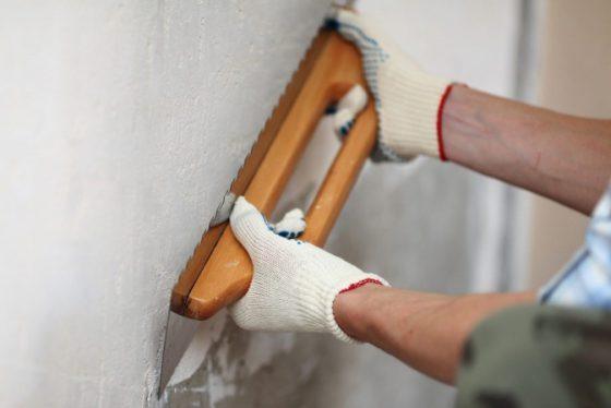 Затирка стен после штукатурки