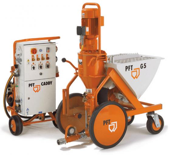 Аппарат для нанесения штукатурки машинным способом