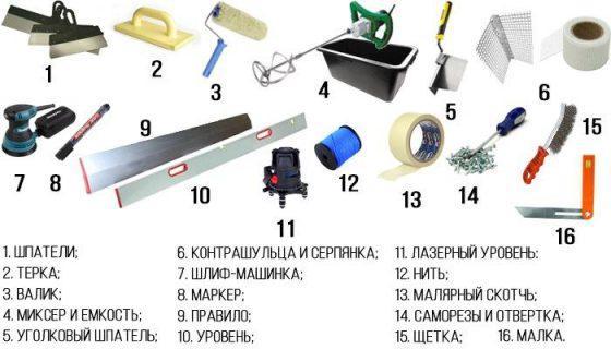 Инструмент для удаления шпаклевки