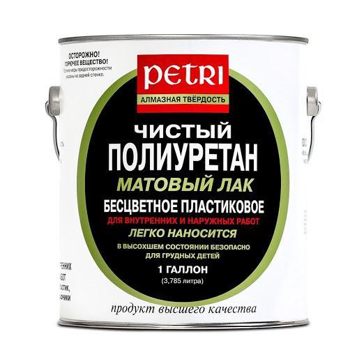 Матовый полиуретановый лак