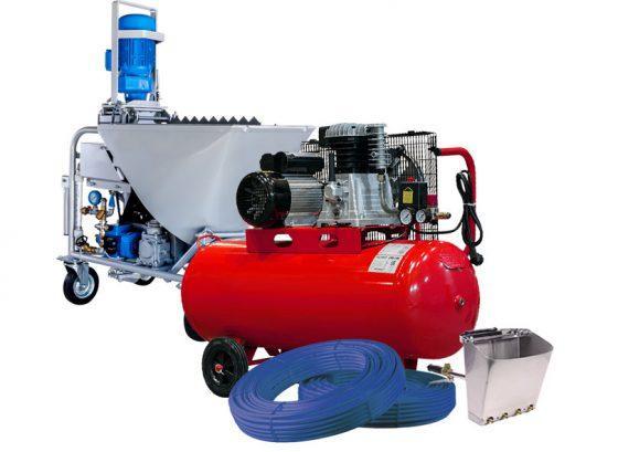 Оборудование для механизированной штукатурки