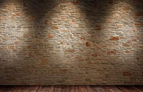 Штукатурка под камень в интерьере