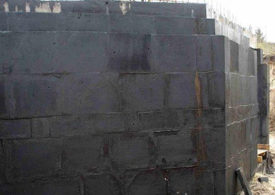 Утепление стен пеностеклом