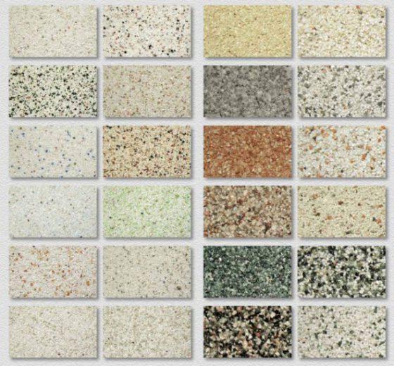 Выбор мозаичной штукатурки