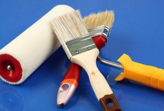 Инструмент для покраски штукатурки