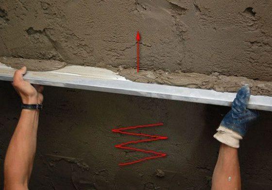 Штукатурка стен на краску
