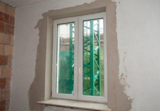 Как выполнить откосы на окнах