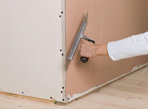 Как зашпаклевать внешние углы стен