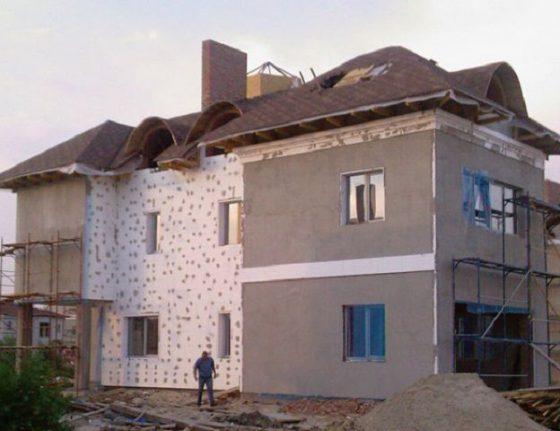 Особенности утепления и штукатурки фасада