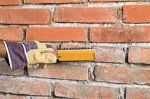 Подготовка кирпичных стен под штукатурку