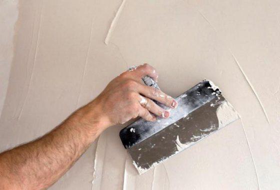 Шпаклевка по краске потолка стены
