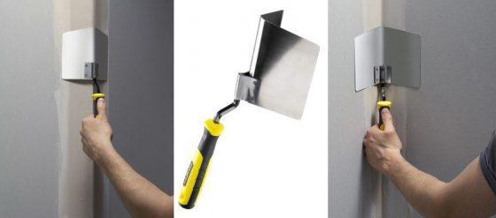 Инструмент для штукатурки углов