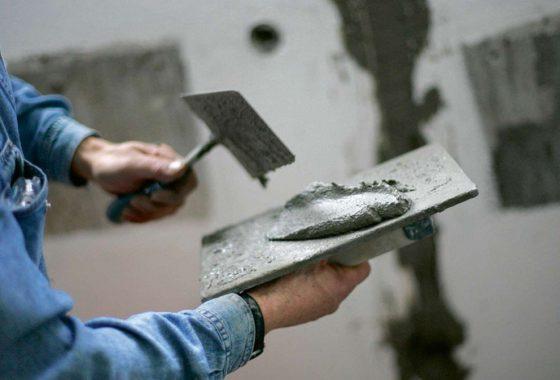 Цементная штукатурка для ванной