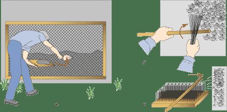 Как наносить штукатурку шуба своими руками