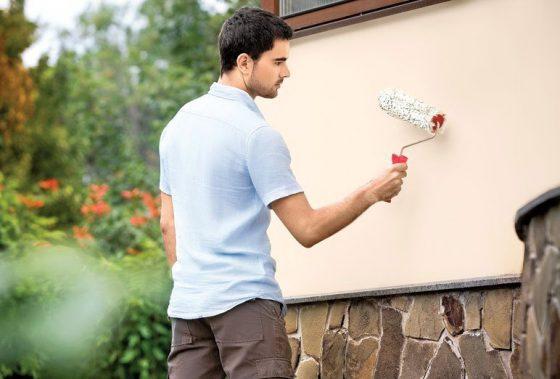 Как правильно окрасить фасад